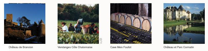 BandeauxItineraire Chalon Tournus <!  :fr  >De Chalons à Tournus<!  :  ><!  :en  >From Chalons to Tournus<!  :  >